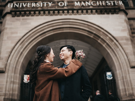 Engagement Session in Manchester | Couple Photoshoot | Pre- Wedding Photos
