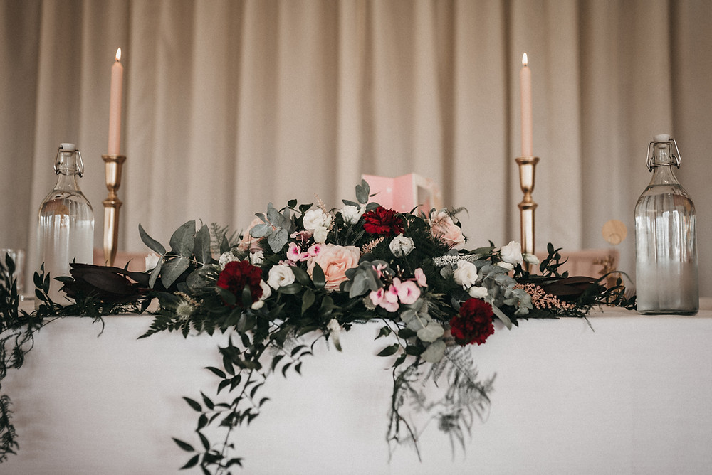 wedding table - wootton park