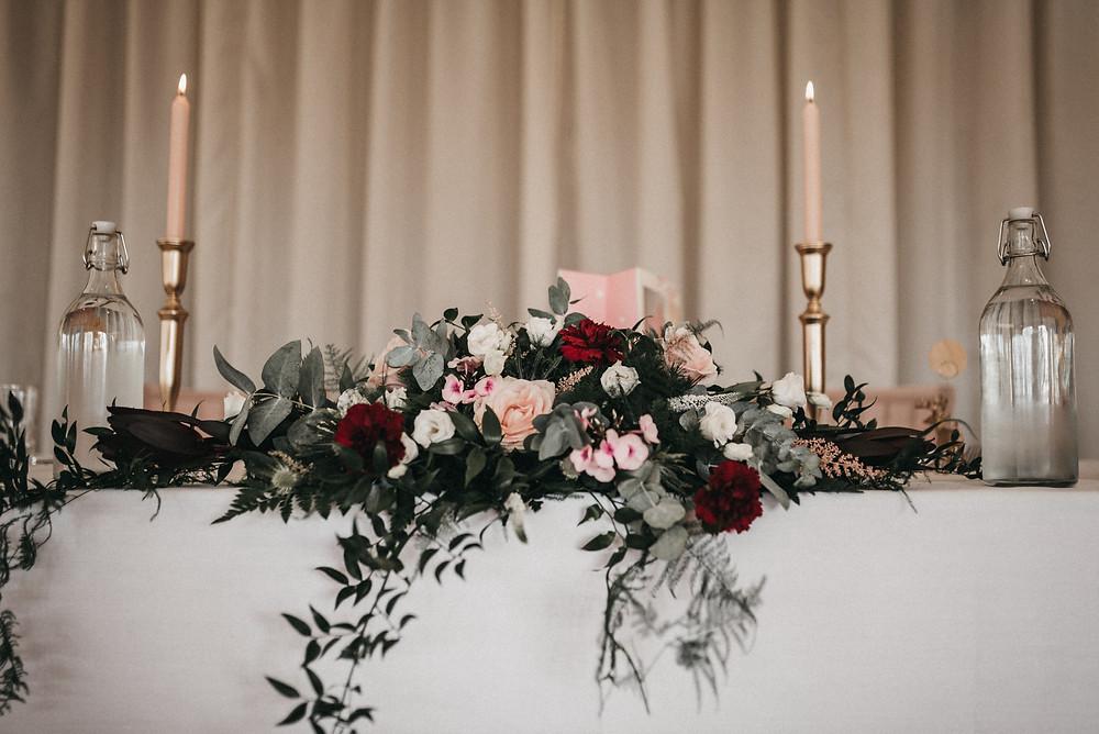 wedding table - wootton park
