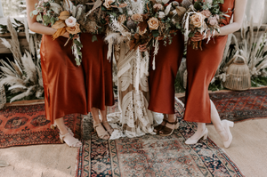 Wedding Florist in Manchester UK Cheshire Boho Style