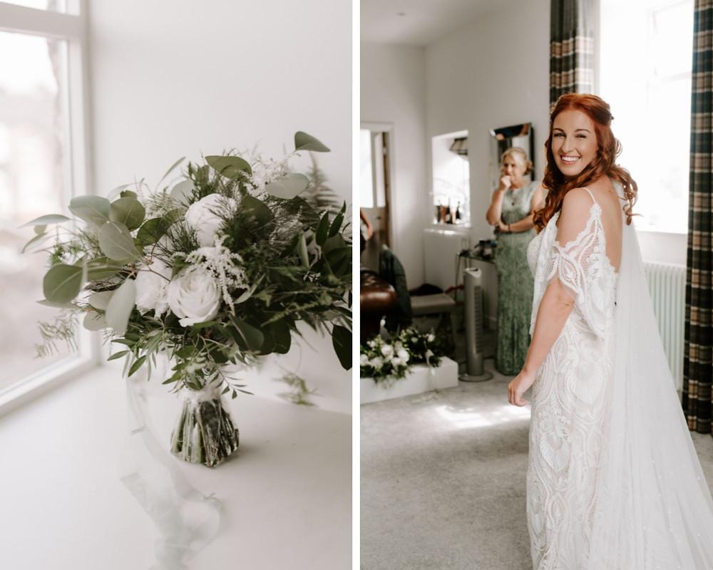 beautiful wedding photography at holmes mill
