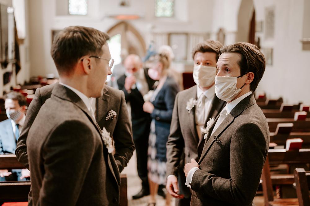 wedding during pandemic - manchester wedding photographer