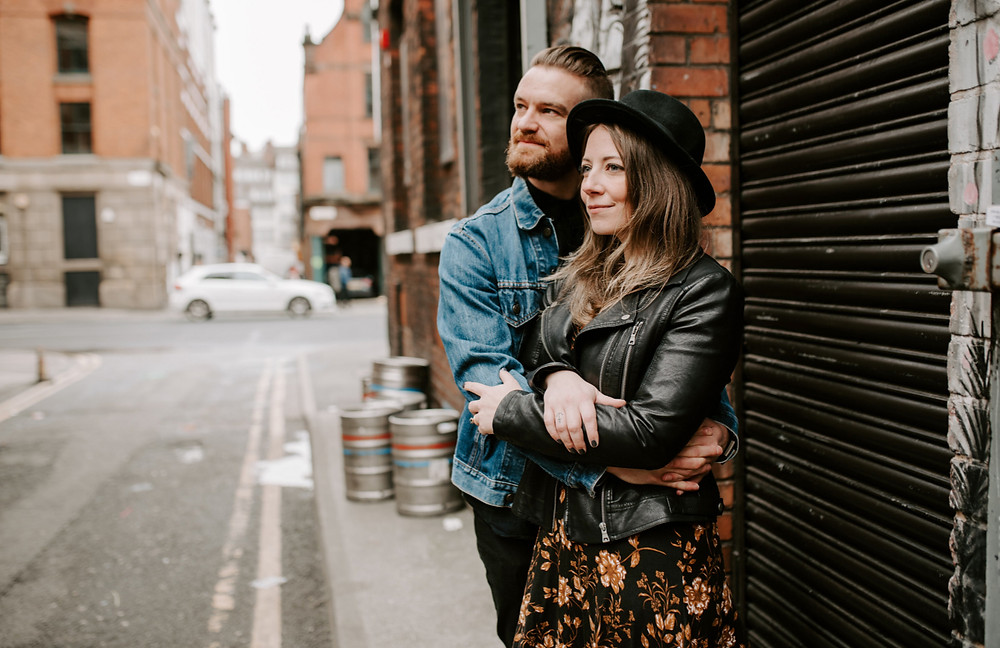Manchester engagement session in Northern Quarter