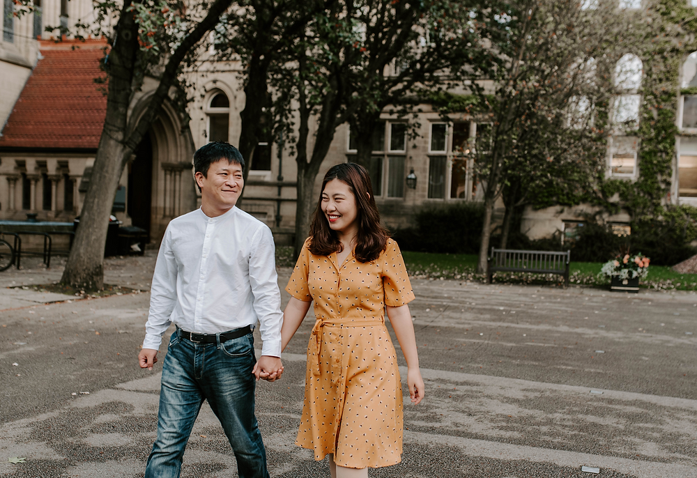 Manchester Pre-Wedding Session at Manchester University