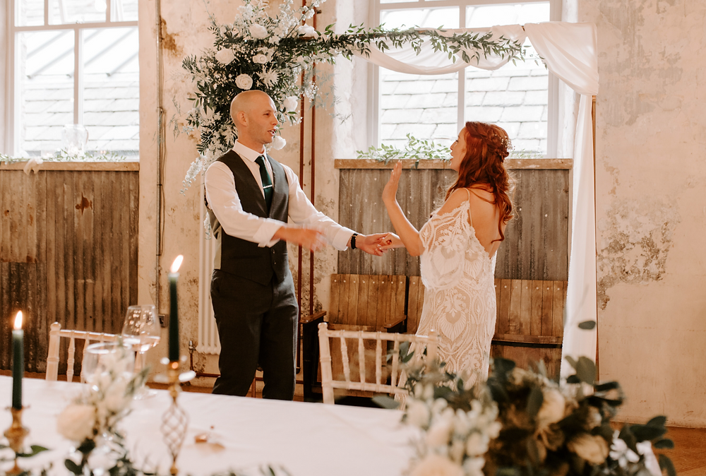 natural wedding photographer in manchester
