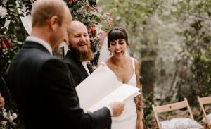 outdoor wedding in london photographer