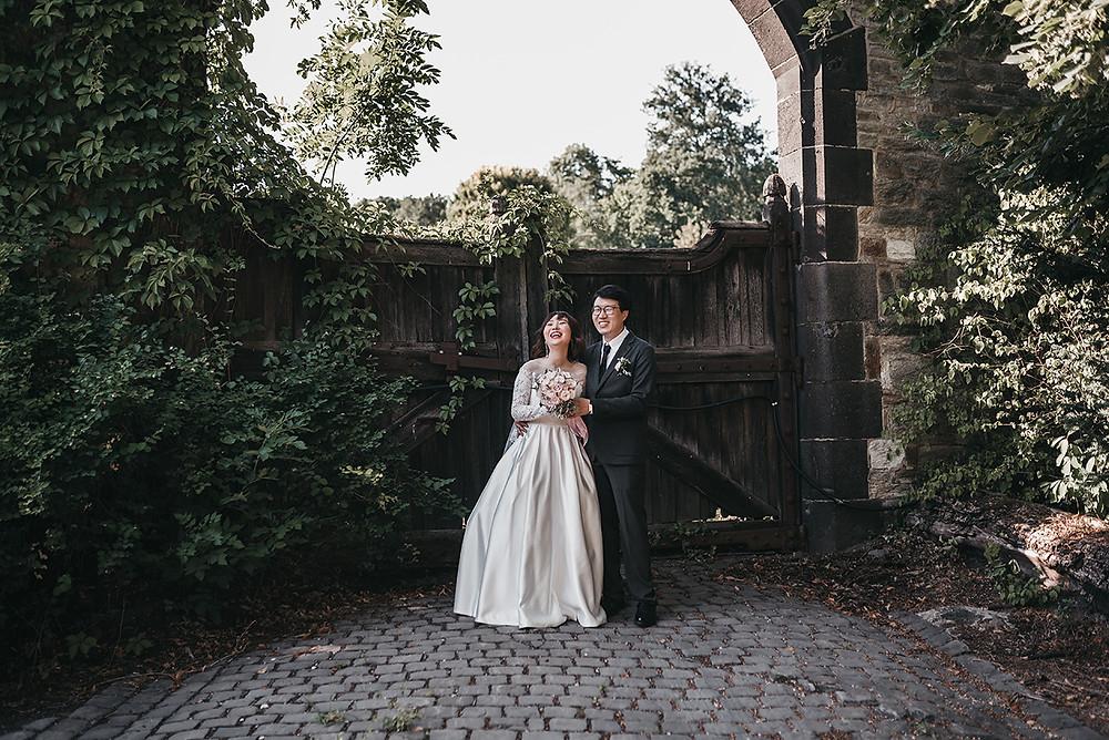 Schlosshotel kronberg gardens wedding