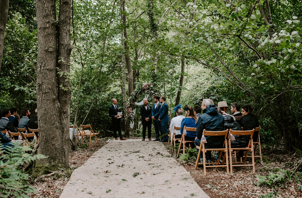 woodland ceremony in london