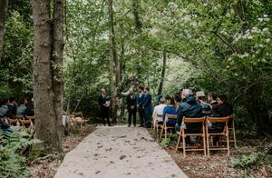 woodland ceremony in london
