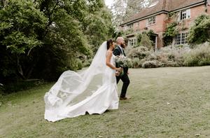 uk wedding photographer woodland wedding day
