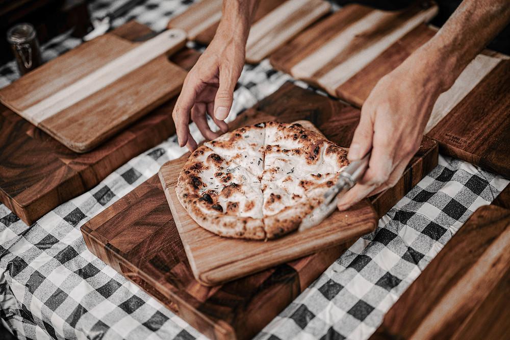 Wedding pizza - Cheshire