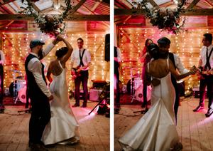 barn wedding in uk photography