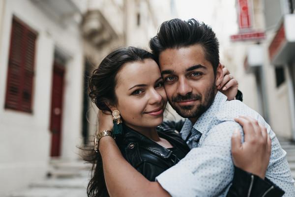 couple photoshoot malta valletta
