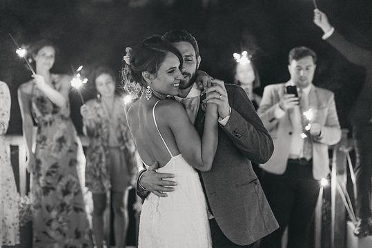 First dance at Eden Barn - Editorial Wedding Photographer Manchester