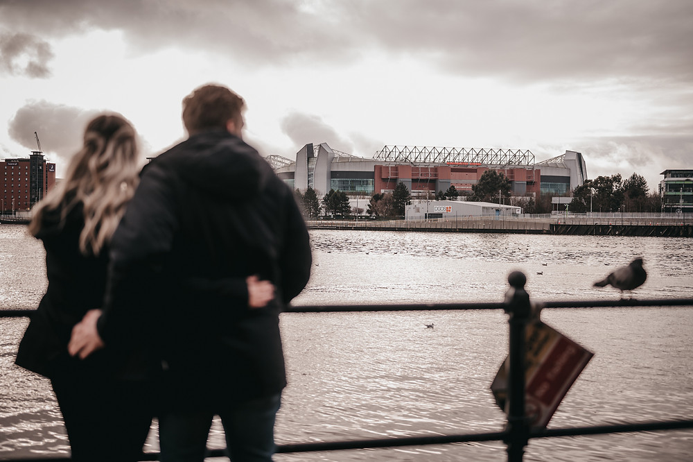 Pre-wedding Photography At Manchester United Stadium In Old Trafford