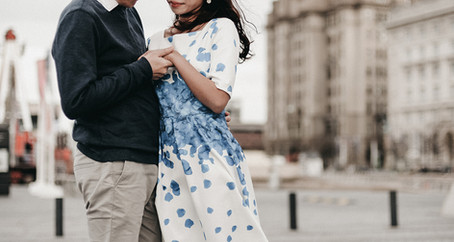 Liverpool Engagement Session | Couple Photography At Albert Dock