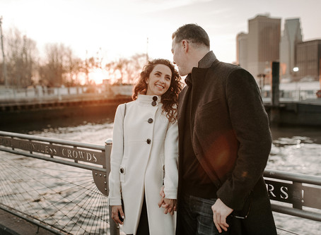 Dumbo Brooklyn Engagement Photos | Destination Wedding Photographer