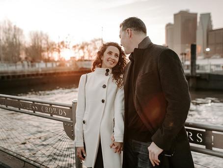 Dumbo Brooklyn Engagement Photos | Destination Wedding Photographer