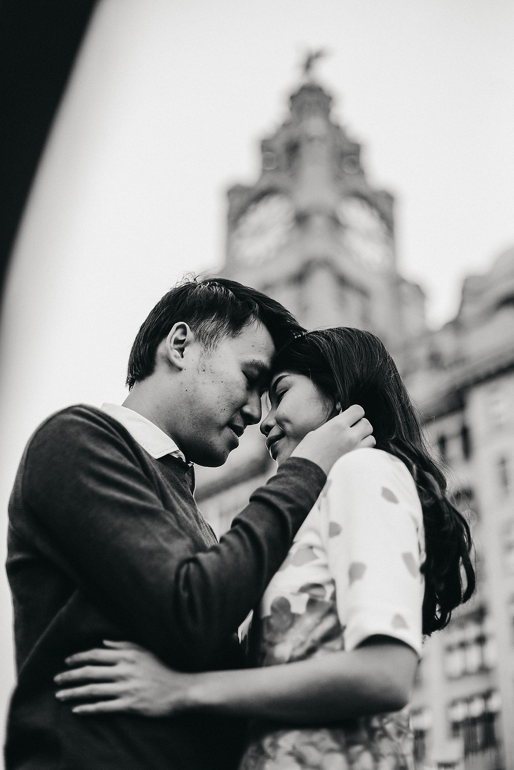 Wedding Photography in Liverpool | Engagement session in Albert Dock