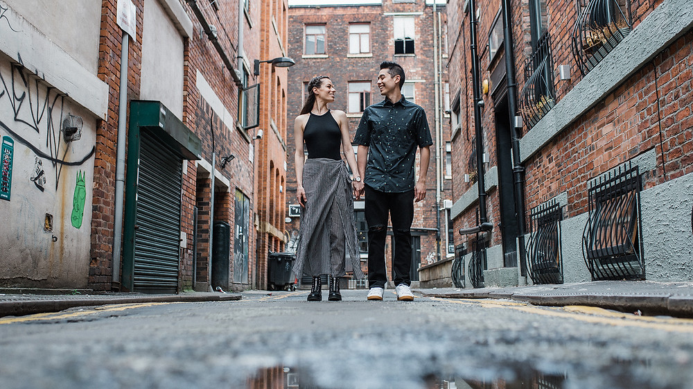 Engagement session in Manchester