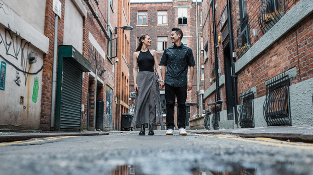 Norther Quarter Couple Session Photography