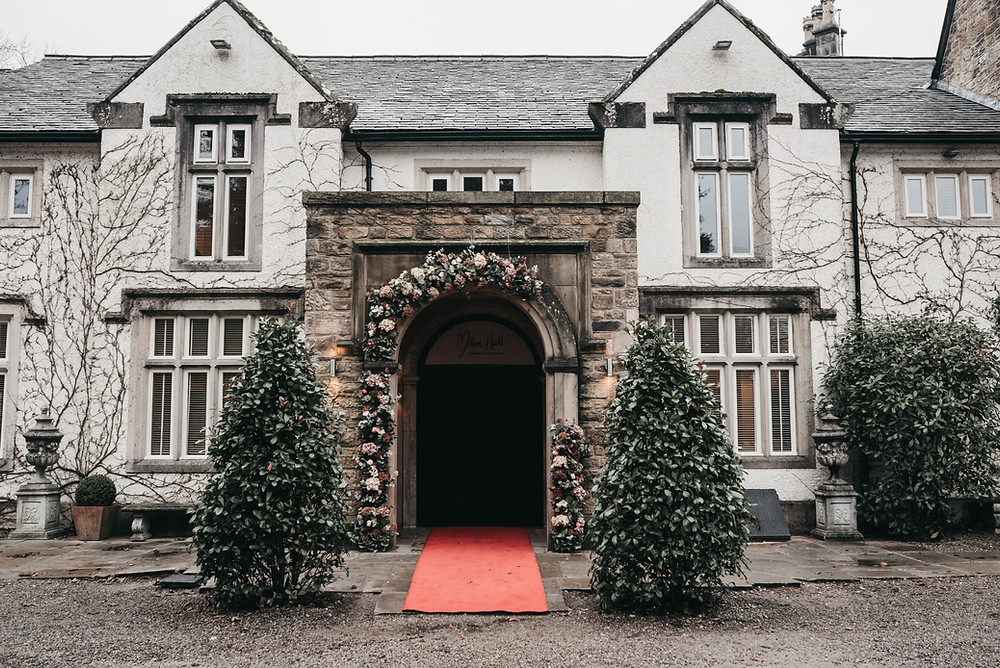 Mitton Hall wedding photo