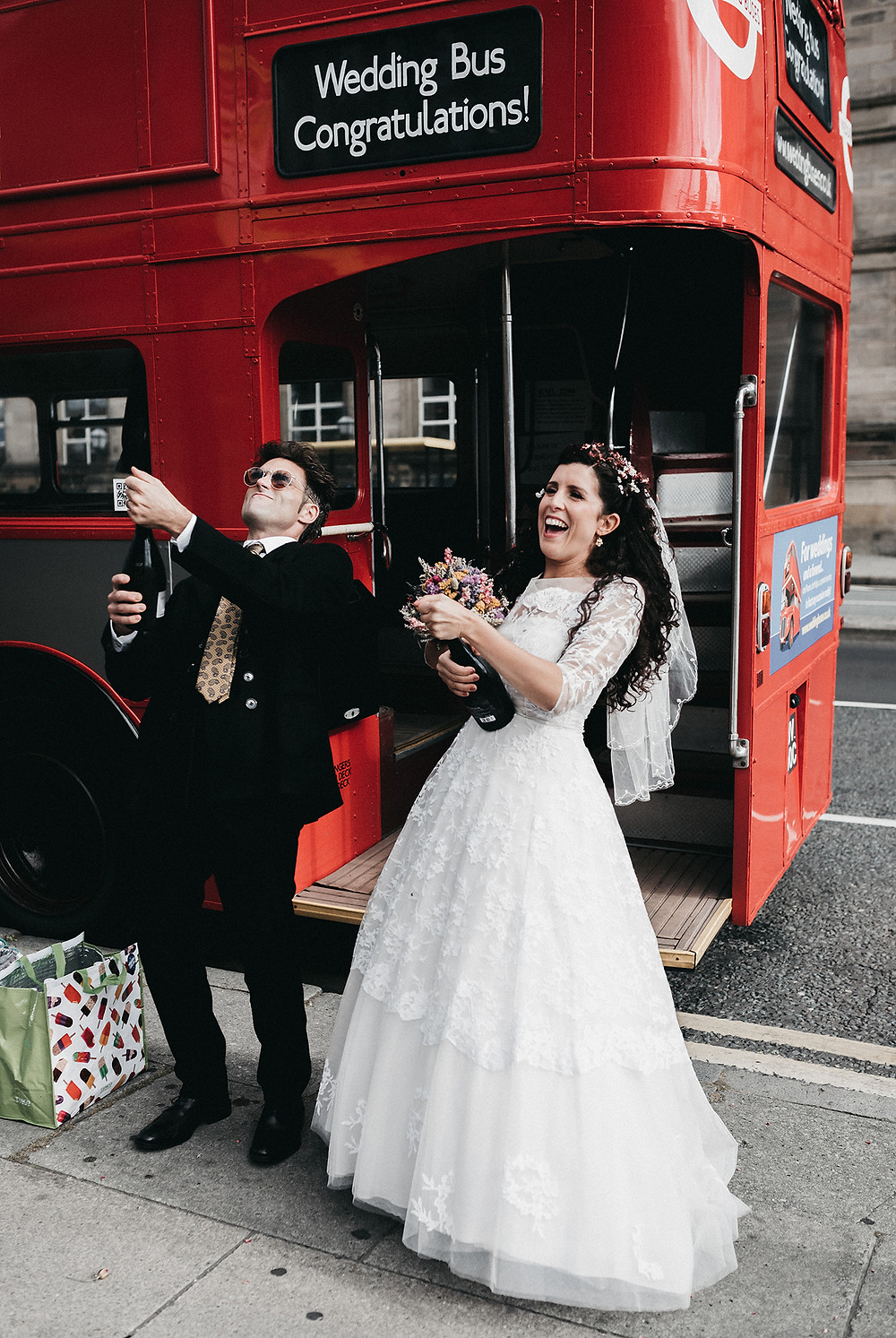 Wedding Photography in Liverpool City Centre | Urban wedding photo