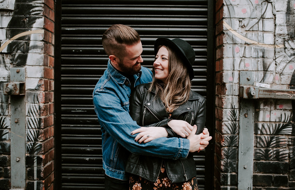 Engagement Session in Manchester Northern Quarter