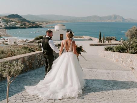 Charlotte + Scott | Ktima Lindos, Rhodes Wedding Photographer