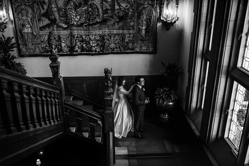 Wedding photosession at Schlosshotel Kronberg