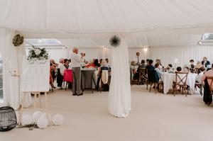 Marquee wedding York hire