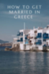 Greece Wedding Guide - Destination Photography Mykonos
