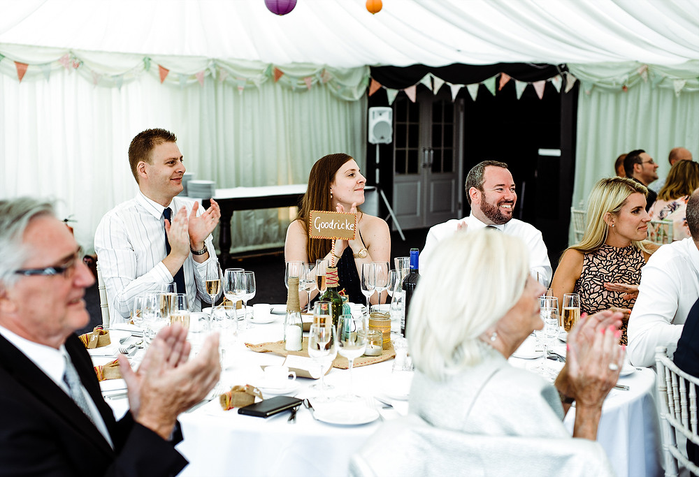 Hilltop Country House Wedding Party