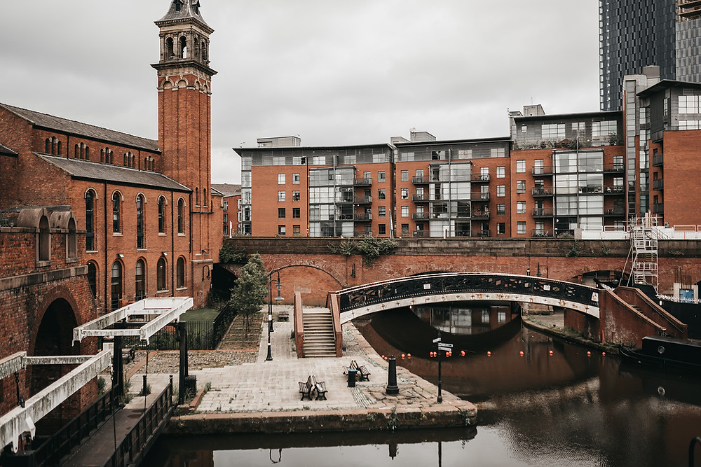 castlefield manchester photo session