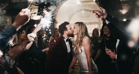 Emily + Caleb | Winter Wedding at Mitton Hall | Ribble Valley  Wedding Photography