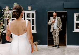 emotional wedding in woodlands london kent