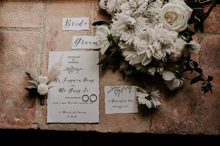 siena wedding photography - wedding deta