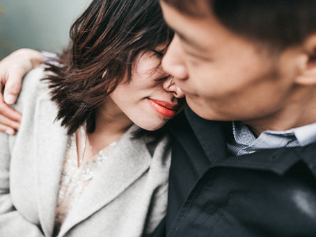 Pre-Wedding Session in Notting Hill | Engagement Session in London