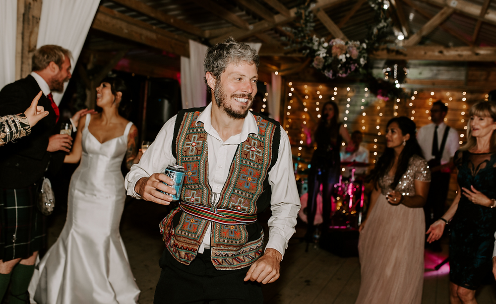 woodland wedding uk dance floor session