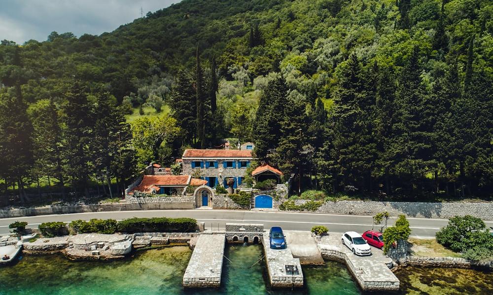 Villa old mill wedding venue in montenegro