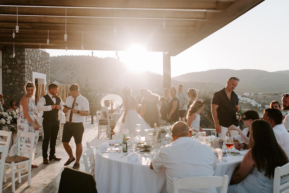 Destination wedding photographer - ktima lindos