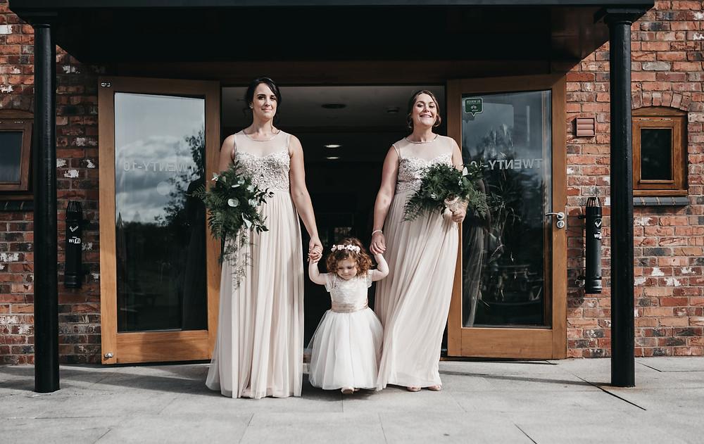 Bridesmaids at Wootton PArk