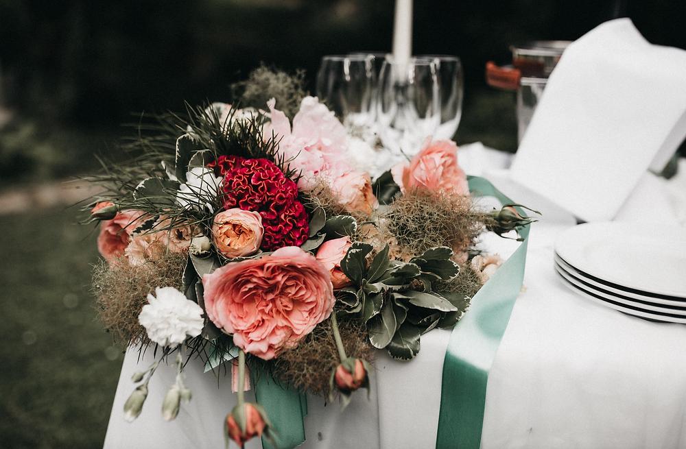 Wedding flowers - Schloss hotel Kronberg wedding