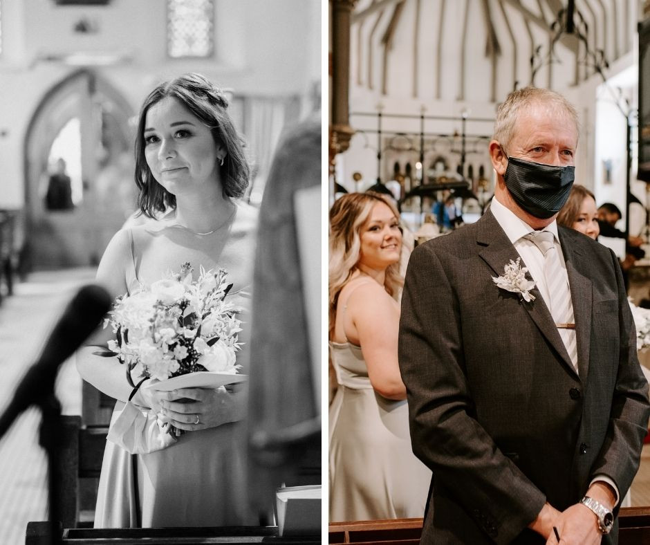 intimate wedding photographer in Manchester