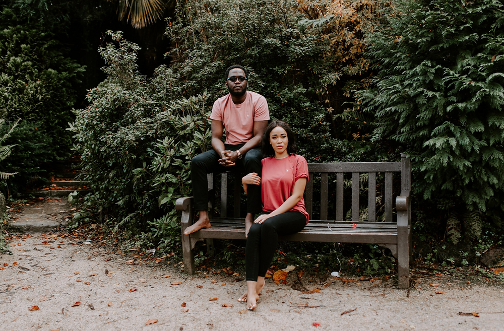 fletcher moss botanical garden pre-wedding and engagement photography in manchester