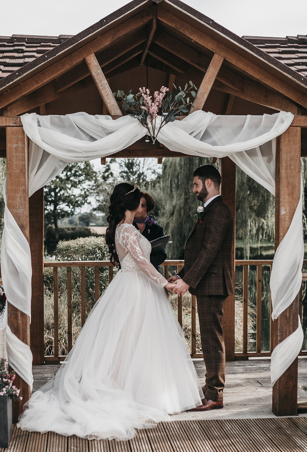 Beautiful Wedding Ceremony Wotton Park