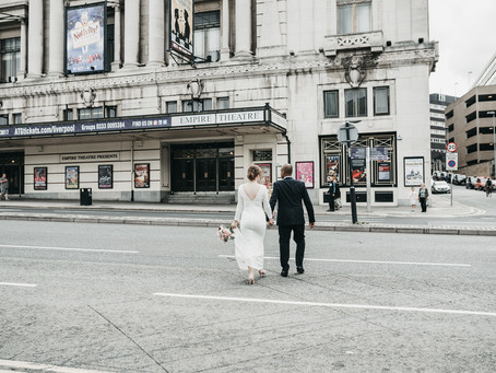 An Intimate Wedding | St George's Hall, Liverpool | Urban Wedding | | Uk Wedding Photography