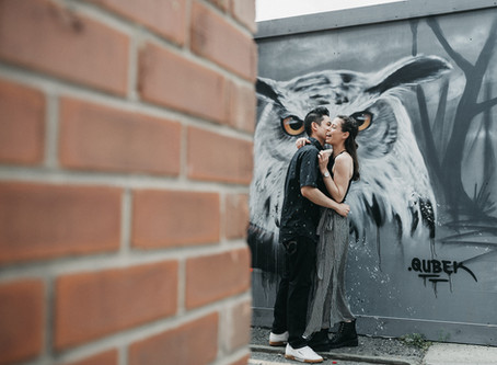 Photosession in Manchester Northern Quarter | Urban Photo Lab | Engagement Photos | Couple Shoot
