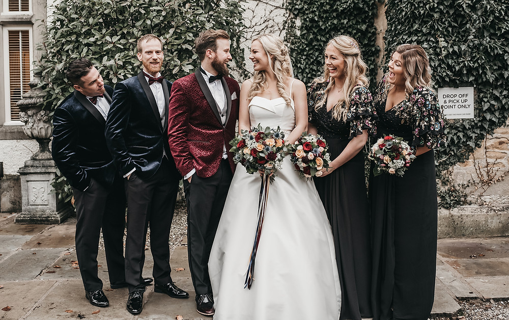 mitton hall wedding day photographer