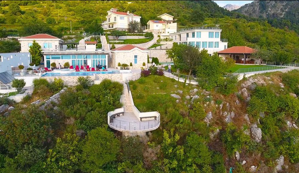 moutain view wedding venue in montenegro